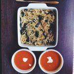 Chesa's Smoked Tinapa Pasta with Kangkong Leaves